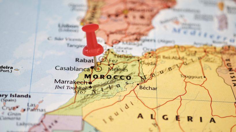 Cartina Politica Del Marocco.Mappe Del Marocco It Versiontravel Com